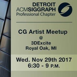 Next Detroit ACM SIGGRAPH event